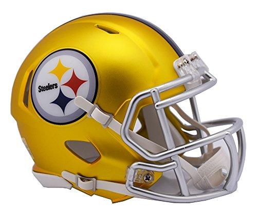NFL Pittsburgh Steelers Alternate Blaze Speed Mini Helm