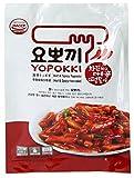 Yopokki Yopokki preparado Coreano arroz torta instantánea paquete nuevo muy picante (1 paquete, muy caliente y muy picante)
