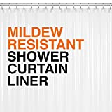 PEVA Shower Curtain Liner 72'x72' Clear 10G Thickness, No Chemical Smell