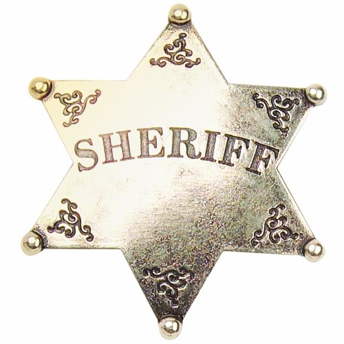 Denix Old West Sheriff 'S Badge