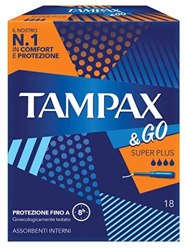 Tampax & Go Super Plus 18 Pads - 140 g
