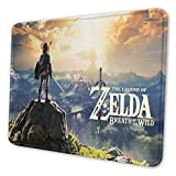 HBZZT Large Gaming Mouse Pad The Legend of Zelda Print Non-Slip Mouse Pad - Portable Large Desk Pad 10 x 12 inch