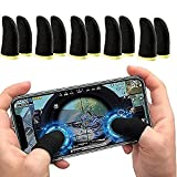Full Finger Screen, Sensitive, Let You Enjoy A More Efficient Gaming Experience Light And Compact: Compact And Lightweight, Carry It Anywhere, Anytime, Anywhere. Easy To Use, No Tools Or Drivers Required. This Finger Set Can Isolate Hand Sweat And Sc...