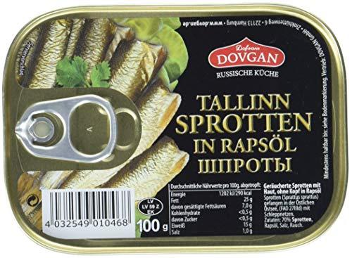Dovgan Tallinn Sprotten in Öl, 10er Pack (10 x 100 g)