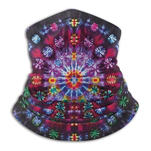 Tie Dye Mandalas Face Mask Dust Wind Neck Gaiter Bandana Headwear Face Scarf