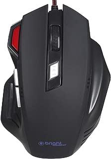 Mouse Gamer Pro 2400 DPI Preto - Bright