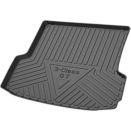 Coche Alfombrillas para maletero, para BMW 3 Series GT 2014-2019 Impermeable Antideslizantes Alfombrillas Goma Maletero Anti Sucio Interior