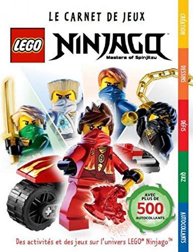 LEGO NINJAGO, LE CARNET DE JEUX