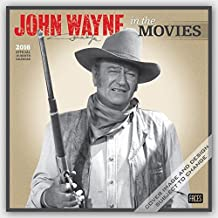John Wayne in the Movies - 2016 Calendar 12 x 12in