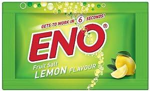 Eno Fruit Salt Lemon Herbs Flavor Relief From Acidity Problem 60pcsx5g Sachets
