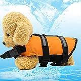 SWAXQ Hundeschwimmweste, Doggy Aqua-Top Schwimmweste Schwimmtraining für Hunde,
