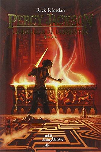 La Bataille du labyrinthe: Percy Jackson - tome 4