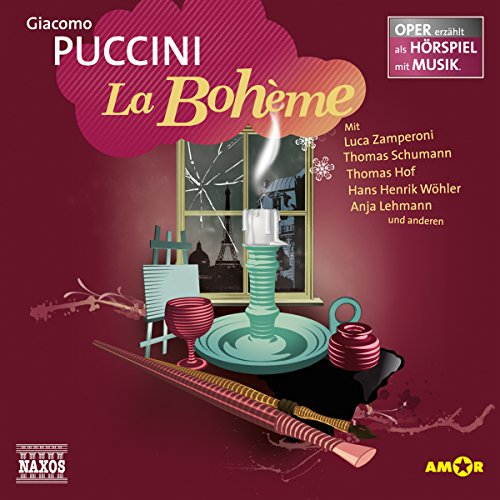 La Bohème audiobook cover art