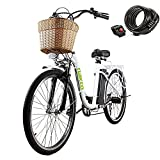 electric adult tricycle - NAKTO Electric Bike 26