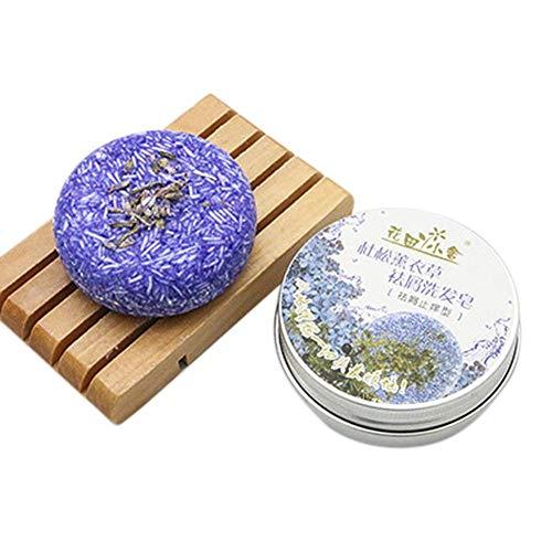Barre de Shampooing Phogary Savon,Divers Fragrances Plant Essence Shampoo naturel pour cheveux gras et abîmés Cheveux Nettoyants Profonds et Hydratants