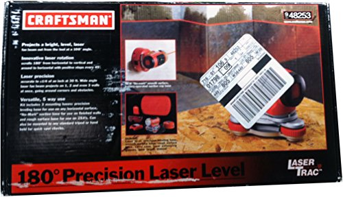 Craftsman Laser TracTM Level with Carrying Case and Laser Enhancing Glasses