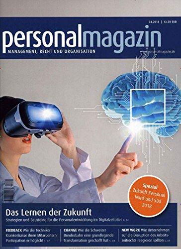 personalmagazin [Abonnement jeweils 12 Ausgaben jedes Jahr]