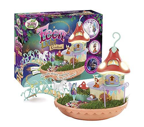 """""""My Fairy Garden"""", Feen Licht Garten, Kreatives Spiel zum Selber Gestalten, Spielzeugset mit Echten Grassamen, Geschenkideen für Kinder, Lernspiele, Spiele für Kleine und Große Kinder ab 4 Jahren"""