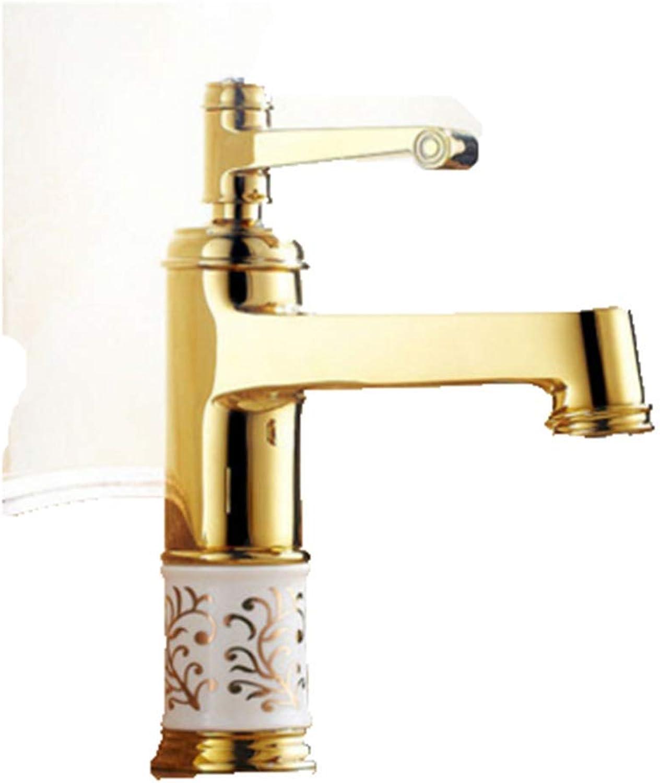 CTREKE Becken Wasserhahn Spüle Mischer Bad Wasserhahn Bad warm und kalt K