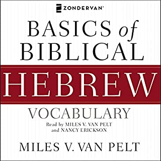 Basics of Biblical Hebrew Vocabulary Audio audiobook cover art