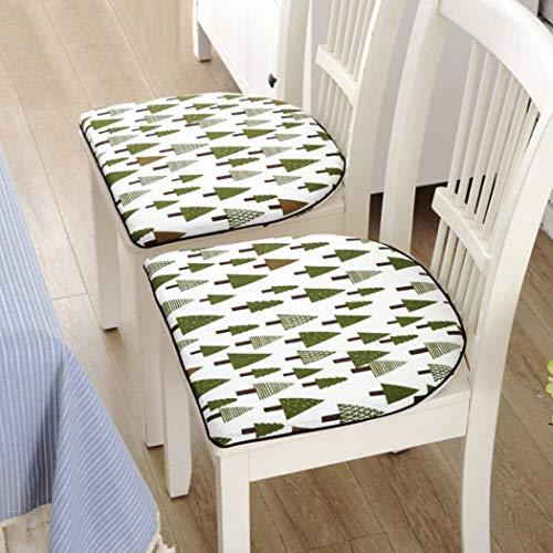 JIE Hoofdkussen, antislip, tabel en stoel-zitkussen, bandageen, eenvoudige moderne stoelhoezen, hoofdmode, platte auto's, rolstoelen, zitkussens, machinewasbaar, afmetingen A x 15 x 15 cm