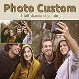 Pintura de diamante personalizada foto personalizada 5D Kits de pintura de diamante para adultos...