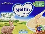 Mellin Liomellin Coniglio Liofilizzato - 3 Vasetti da 10gr...