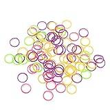 100 piezas/paquete de bandas de goma para dientes elásticos dentales profesionales, suministros de...