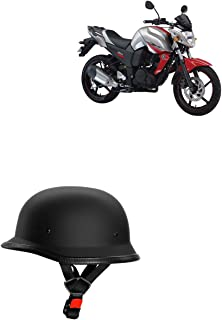 Adroitz All Purpose Safety Bikes Helmet with Strap For Suzuki Gixxer Sf 2018 (Black)