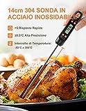 Zoom IMG-1 termometro digitale per carne da