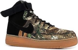 Nike Men's Air Force 1 HIgh '07 LV8 3 Black/Real Tree AO2410-001