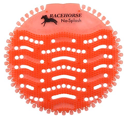 Racehorse Splash-Reducing Urinal Screen and Deodorizer, Citrus Scent (20-Pack)