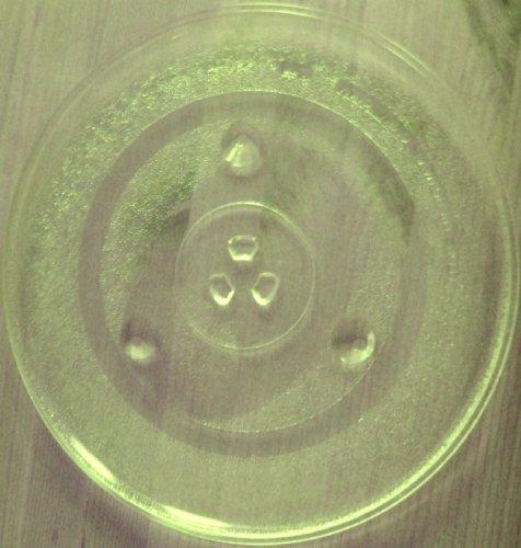 Mikrowellenteller / Drehteller / Glasteller für Mikrowelle # ersetzt Durabrand Mikrowellenteller # Durchmesser Ø 31,5 cm / 315 mm # Ersatzteller # Ersatzteil für die Mikrowelle # Ersatz-Drehteller # OHNE Drehring # OHNE Drehkreuz # OHNE Mitnehmer