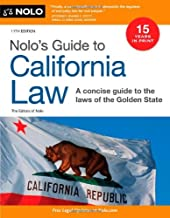 Nolo's Guide to California Law