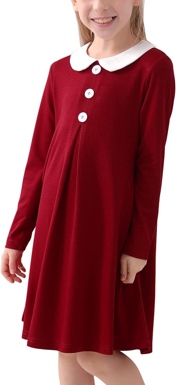 Ranking TOP17 GORLYA Girl's Short Sleeve Peter Vinta Genuine Placket Button Pan Collar
