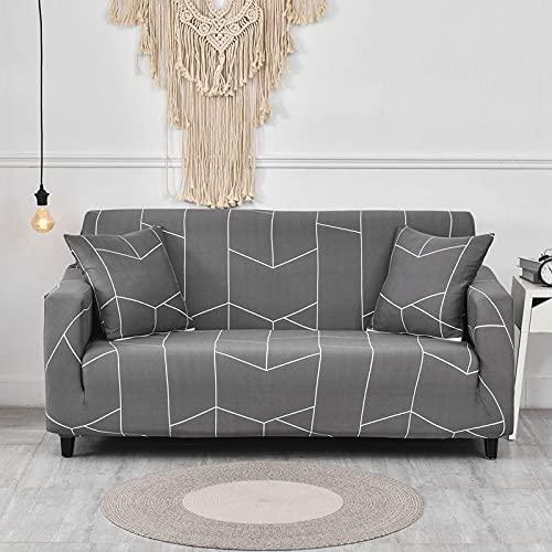 WXQY Fundas elásticas Fundas elásticas para sofá, protección para Mascotas, Funda para sofá, Esquina en Forma de L, Funda para sofá con Todo Incluido, A20, 1 Plaza
