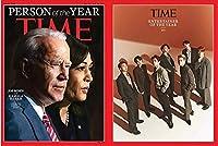 【当店追加特典】 TIME Magazine 1月号 2021.1 (インサイドカバーBTS):防弾少年団 BTS Entertainer of the Year記事収録(中身BTS収録)