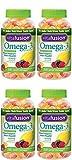 Vitafusion Omega-3 Gummies, 120 Count (4 Bottles)