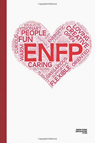 The ENFP Heart: A Personality Themed Notebook Journal