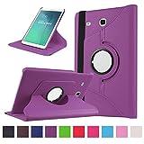 Tab E 9.6'' Coque,Flip Case Cover Avec Stand Étui en PU Cuir Rotative 360 degrés...