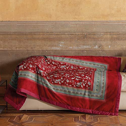 Bassetti Plaid | ARMANTO R1 Rosso 135 x 190
