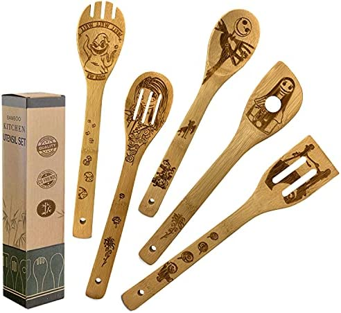 Top 10 Best bamboo serving spoon Reviews