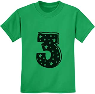 Three Years Old Boy/Girl Birthday Gift Idea - I'm 3 Superstar Kids T-Shirt