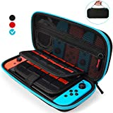 Aukor Carrying Case for Nintendo Switch with 20...