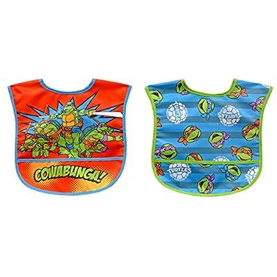 Neat Solutions 2 Piece Water Resistant Toddler Bib Set