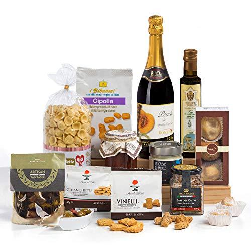 Squisito Luxus italienischen & sizilianischen Spezialitäten in der Hamper Geschenkbox