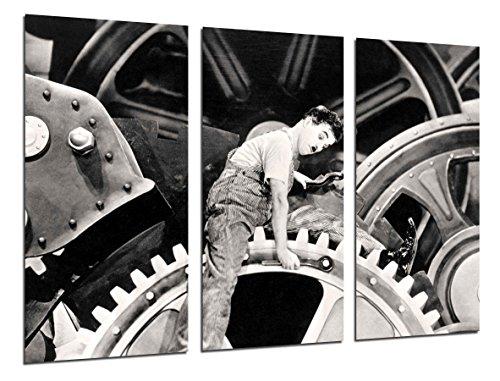 Poster Fotográfico Historia Cine Antiguo Hollywood, Charlie Chaplin, Charlot Tamaño total: 97 x 62 cm XXL