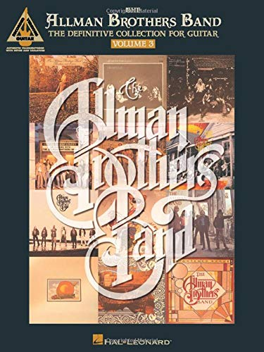 The Allman Brothers Band - The Definitive Collection for Guitar - Volume...