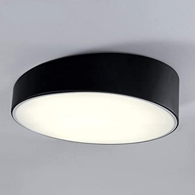 Lámpara de pared techo Madrid Color Wengué ø27 cm IP20 LED ...