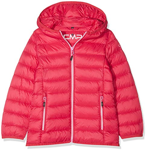 CMP Feel Warm Flock, Jacke Mädchen, rot (Granita), 152
